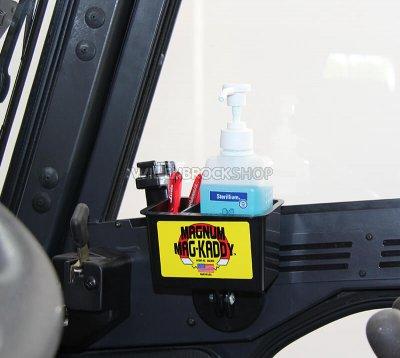Ablagebehälter für Stapler-Fahrerkabine