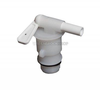 Absperrhahn für Aquamatic-Füllbehälter
