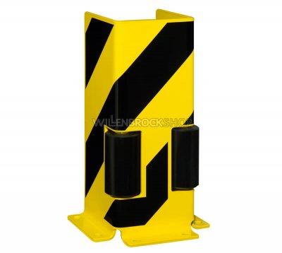 U-Anfahrschutz mit Leitrollen