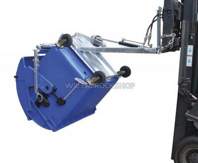 Müllcontainerwender hydraulisch