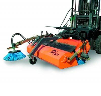 Anbau-Kehrmaschine Plus