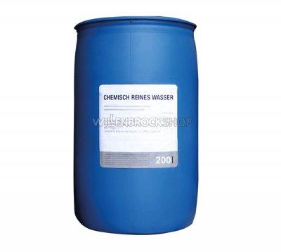 Kunststofffass mit 200 Ltr. destilliertem Wasser