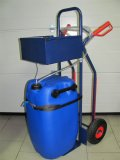 Aquamatik: Batterie Füllstation
