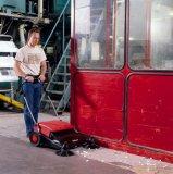 Handkehrmaschine mit Tandemwalzen Twinner