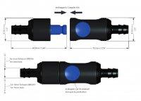 Aquamatic-Verbinder 6/ 10 mm