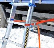 LKW Enteisungsleiter inkl. Schneeschieber