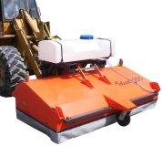 Anbau-Kehrmaschine Ideal