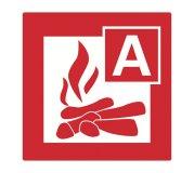 Feuerlöscher zugelassen für Brandklasse A