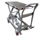 T50013, Edelstahl-Hubtisch rostfrei 250 kg