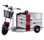 Euro-Scooter mit Transportboxen