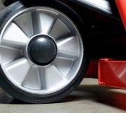 Gummi Lenkräder auf Aluminiumfelge