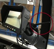 Gabelzinken-Kamerasystem auf Funkbasis