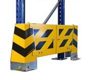 Schnelles und einfaches montieren von Rammschutz-Planke