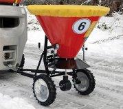 Streuwagen optional mit Abdeckhaube