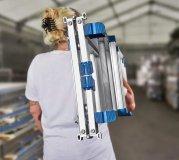 Bavaria Aluminium Teleskopleiter mit Bolzengelenk