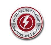 Elektrisches Heben - manuelles Fahren