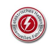 Hochhubwagen: elektrisches Heben - manuelles Fahren